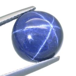 8.02ct Blue Sapphire Round Cut
