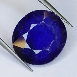 11.62ct Oval Cut Glass Filled Sapphire