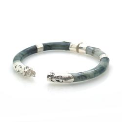 copy of Jade and 925 Sterling Silver Bracelet