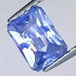 0.72ct Sapphire Emerald Cut