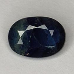 0.89 Blue Sapphire, Oval Cut
