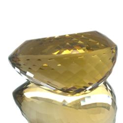 66,40ct. Citrine Pear Cut