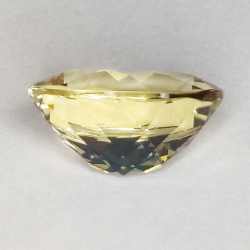 3.30ct Héliodore Taille Ovale