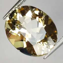 3.30ct Heliodore Oval Cut