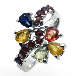 Songea Sapphire Ring and Silver 925