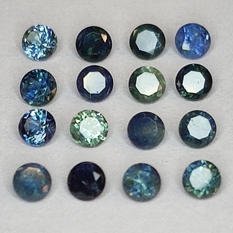 Sapphire Round Cut 2.2 mm