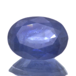 1,35ct.Blue Sapphire Oval Cut
