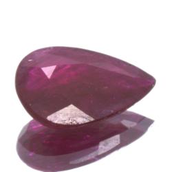 1,06ct Ruby Pear Cut