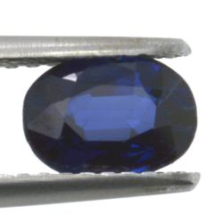 0,98ct. Blue Sapphire Oval Cut