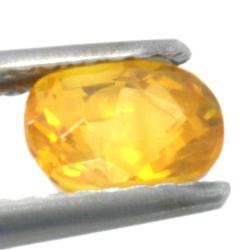 1,12ct. Yellow Sapphire Oval Cut