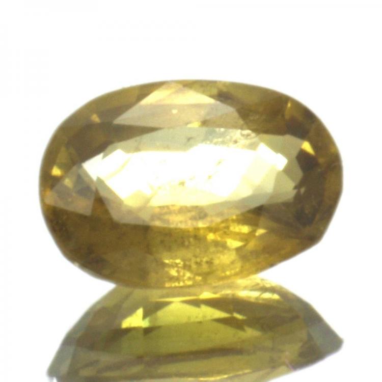 1,05ct. Yellow Sapphire Oval Cut