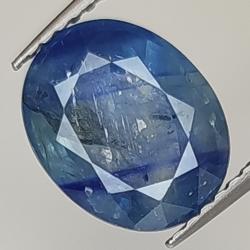 3.27ct Blue Sapphire oval cut 9.9x8.0mm