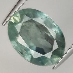 1.92ct Blue Sapphire oval cut 8.1x4.0mm