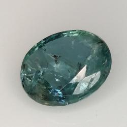 2.25ct Emerald oval cut 9.8x7.9mm