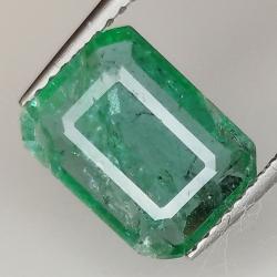 2.06ct Emerald emerald cut 10.3x7.7mm
