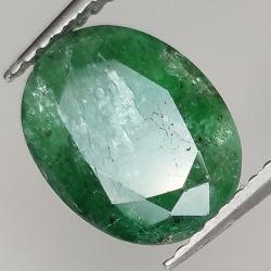 2.78ct Emerald oval cut 10.3x8.0mm