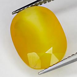 3.70ct Fire Opal oval cut 12.7x9.5mm