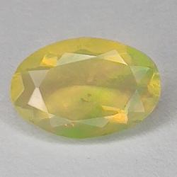 0.90ct Ethiopian Noble Opal oval cut 9.0x6.0mm