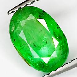 1.00ct Emerald oval cut 7.6x5.3mm
