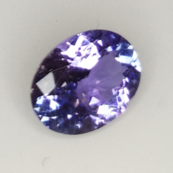 1.53ct Tanzanite oval cut 8.5x6.5mm