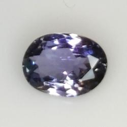 1.14ct Tanzanite oval cut 7.9x5.7mm