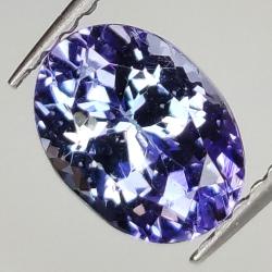 1.66ct Tanzanite oval cut 8.0x5.9mm