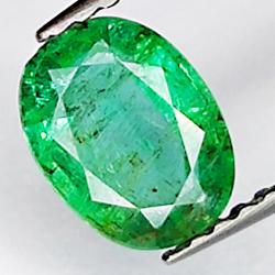 0.93ct Emerald oval cut 7.2x5.4mm