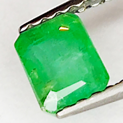 0.58ct Emerald emerald cut 5.0x4.1mm