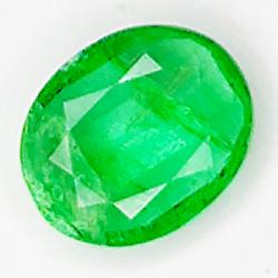 0.42ct Emerald oval cut 6.1x4.9mm
