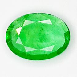 0.51ct Emerald oval cut 6.9x5.1mm