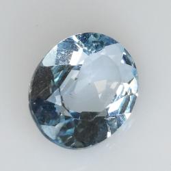 3.73ct Blue Topaz oval cut 11.1x9.0mm