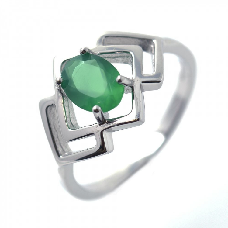 Multigems & 925 Sterling Silver Ring
