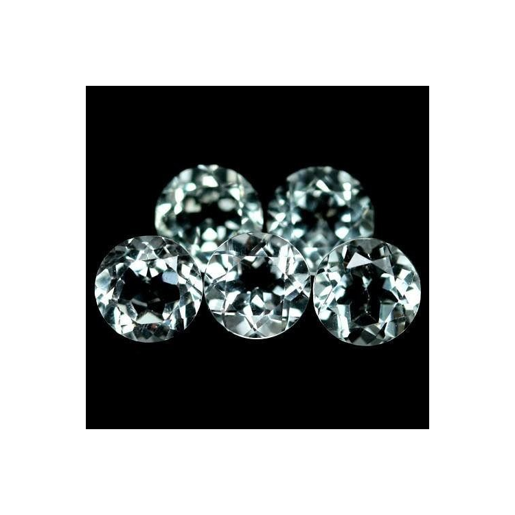 4 pieces of Green Amethyst (prasiolite) - 14.40 ct