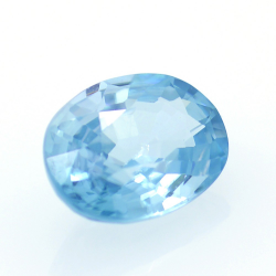 1,76 ct Blue Zircon