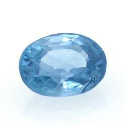 1,95 ct Blue Zircon