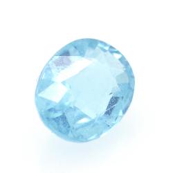 1.34ct Blue Apatite Oval Cut