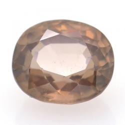 2.83ct Pink Zircon Oval Cut