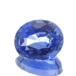 0.95ct Blue Sapphire Oval Cut