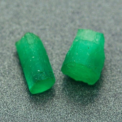 3.02ct Set Rough Emerald